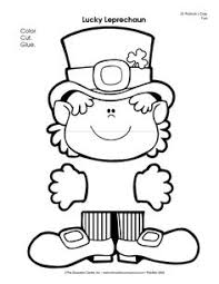 template of a leprechaun pin by muse printables on printable patterns at patternuniverse com