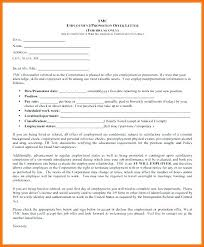Conditional Offer Of Employment Template