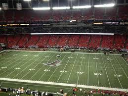 Georgia Dome Section 344 Home Of Atlanta Falcons