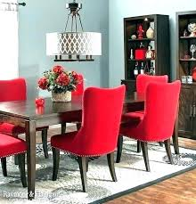 perfect red dining table adorable room unique chair best kieraosment awesome home design elegant how to create a sensational with panache from and set