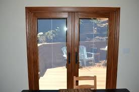 exterior french doors beautiful patio with blinds andersen renewal by door cost