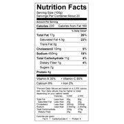 Walmart Deli Nutrition Chart Walmart Grocery
