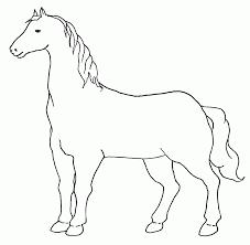 Bello Immagini Cavallo Da Disegnare Colorate Migliori Pagine Da