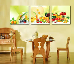 3 piece canvas art home decoration wall art painting fruit wall painting for dining room kitchen