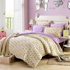 exquisite lilac and brown cotton bedding set 1 600x600 exquisite lilac and brown cotton bedding