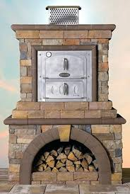 outdoor fireplace pizza oven combo stone veneer pizza oven outdoor fireplace pizza oven combo kits