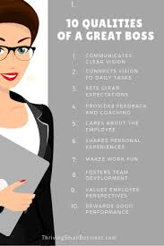 Dealing With A Bad Boss How To Be A Good Boss 10 Qualities Of A Good Boss