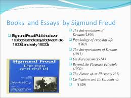 psychoanalytic theory 18 books and essays by sigmund freud