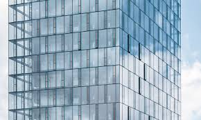 glass facade design office building. Festo AutomationCenter, Festo, Office Building, Biomimcry, Glass Facade, Panels, Facade Design Building