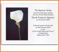 Memorial Announcement Cards 6 Death Announcement Examples Iwsp5