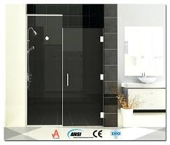 hinged glass shower door frame glass shower doors aluminium pivot hinge for 6mm glass shower door