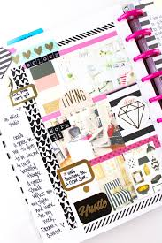 office planner. Office Planning In The Happy Planner™ Of Mambi Design Team Member Tiffany Ross Using Planner