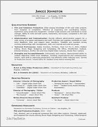 Production Resume Examples Video Production Resume Samples Free Video Producer Resume Examples