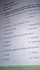 #soal_pjok #soal_pas #pjok_kls2 soal pas pjok kelas 2, soal latihan untuk mengasah kemampuan koginiif siswa. Kunci Jawaban Penjaskes Kelas 9 Halaman 62 Guru Galeri