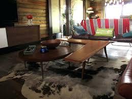 cowhide rug faux