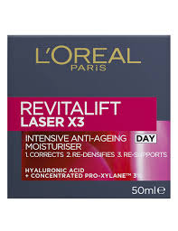 <b>L'Oreal</b> Paris <b>Revitalift Laser X3</b> Day Cream, 50ml - 85805
