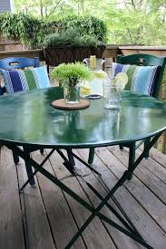 impressive best paint for patio furniture paint glass patio table top