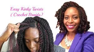 Kinky Twist Hairstyles Easiest Kinky Twists Ever Crochet Braids With Freetress Cuban