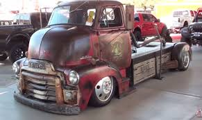 rat rod truck with mid engine turbo diesel awesome