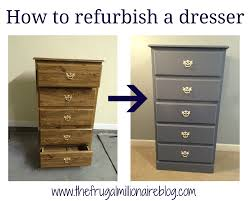 furniture refurbished. How To Refurbish Furniture - A Look At My First Piece, Dresser For $15! Refurbished F