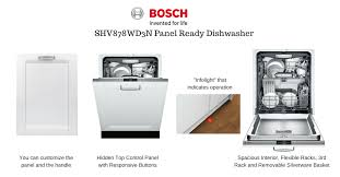 best panel ready dishwasher. Interesting Panel SHV878WD3NPanelReadyDishwasher In Best Panel Ready Dishwasher E