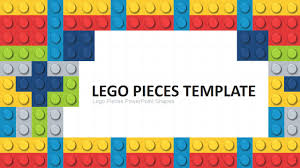 Chart Of Lego Pieces Lego Powerpoint Template
