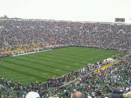Notre Dame Football Seating Chart Rows Notre Dame Stadium Section 133 Row 25 Seat 9 Notre