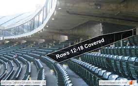 Oakland Athletics Ringcentral Coliseum Seating Chart