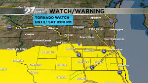 NWS issues Tornado Watch for parts of ...