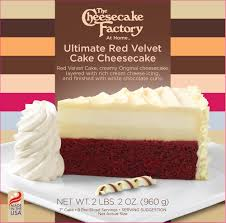 the cheesecake factory at home ultimate red velvet cake cheesecake walmart