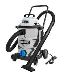 HART 8 Gallon 6.0 Peak HP <b>Stainless Steel</b> Wet/Dry <b>Vacuum</b> ...