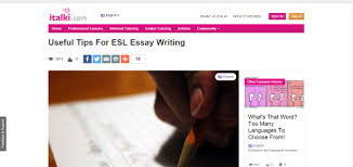 resources every student needs to be a better essay writer esl custom essay writing