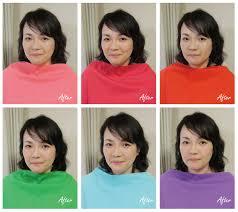 Beforeafter 変身事例写真 東京練馬のパーソナルカラー診断骨格