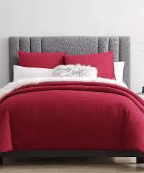 all gone red claus velvet comforter set