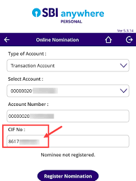 How to find the CIF number of my SBI account in another state if I ...