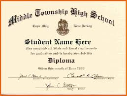 Sample Of School Graduation Certificate New Template High School