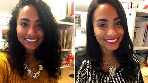 Hair Style Before And After curlpower women switch from curly to straight hairstyles to test 7533 by wearticles.com