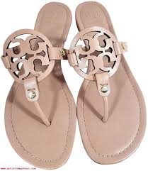 women tory burch miller makeup leather sandals sandals on