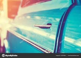 vintage car door handle. Car Door Handle Of Vintage With Sunlight , Tone \u2014 Photo By Slonme N