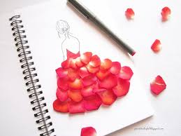 I pressed some rose petals in books and hope to make some crafts using  those dried flowers in future.