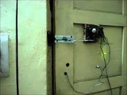 DIY Wire Less Door Lock (Home Made). - YouTube