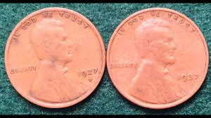 1927 And 1937 Penny Errors And Values Of These Coins