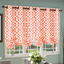 Kitchen Window Curtain Panels Sheer Pole Pocket Single Curtain Panel Trellis And Curtains