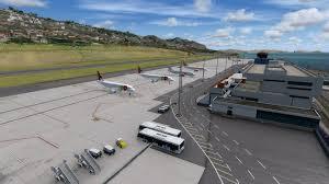 Lpma Airport Charts Download Scenery Aerosoft Madeira X Evolution Lpma Fsx P3d