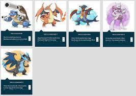 Pokemon XY Mega Evolution List (Page 1) - Line.17QQ.com