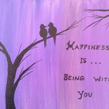 Christmas Quotes About Love Custom Love Bird Art Love Birds Acrylic Painting From PreethiArt