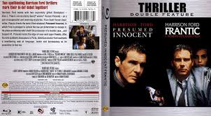 Presumed Innocent Film Gorgeous Presumed Innocent Frantic Bluray Cover Cover Addict DVD And