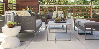 crate and barrel outdoor furniture. Contemporary And Likeable Crate And Barrel Outdoor Furniture On Elegant Patio Residence  Remodel Plan  Throughout