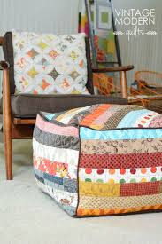 Best 25+ Vintage modern quilts ideas on Pinterest | Baby quilt ... & Boho Ottoman (Vintage Modern Quilts) Adamdwight.com