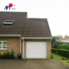 american motor automatic sectional garage door with 5 panel